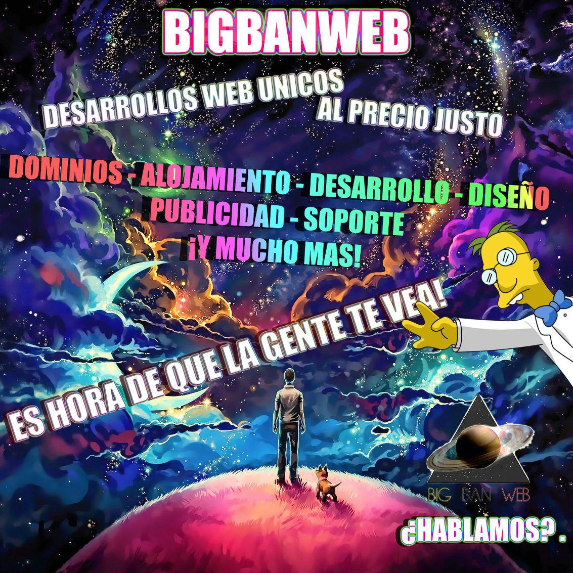 bigbanweb - BigBanWeb Profesional desde 44,90€