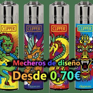 mecherosdiseño 300x300 - MECHEROS CLIPPER DE DIBUJOS - PRECIOS ESPECIALES