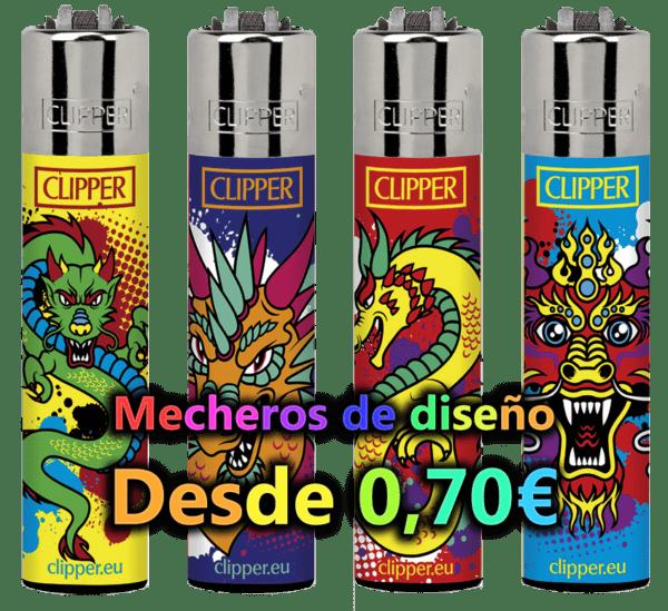 mecherosdiseño - MECHEROS CLIPPER DE DIBUJOS - PRECIOS ESPECIALES